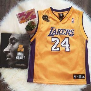 Lakers Kobe #24 Jersey L Youth/ M Women's